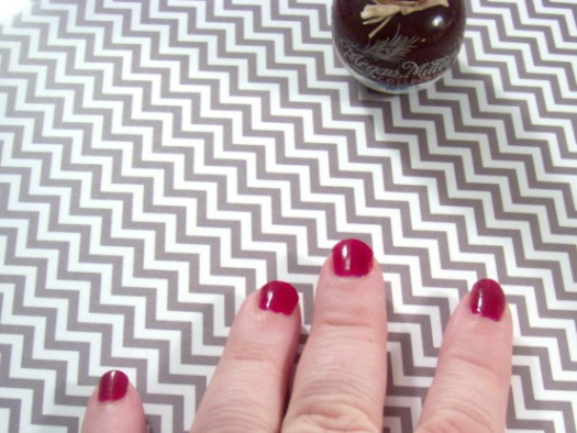 Megan Miller Collection Nail Lacquer Framboise