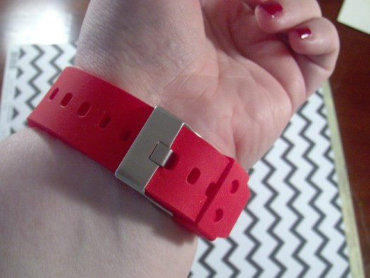 SlingShox silicone watch sleeve buckle