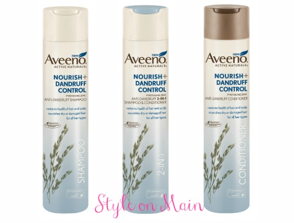 Aveeno Nourish+ Dandruff Hair Care Line