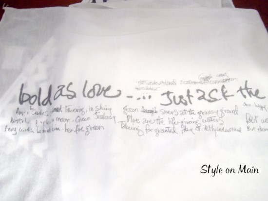 Bold as Love Jimi Hendrix Scarf