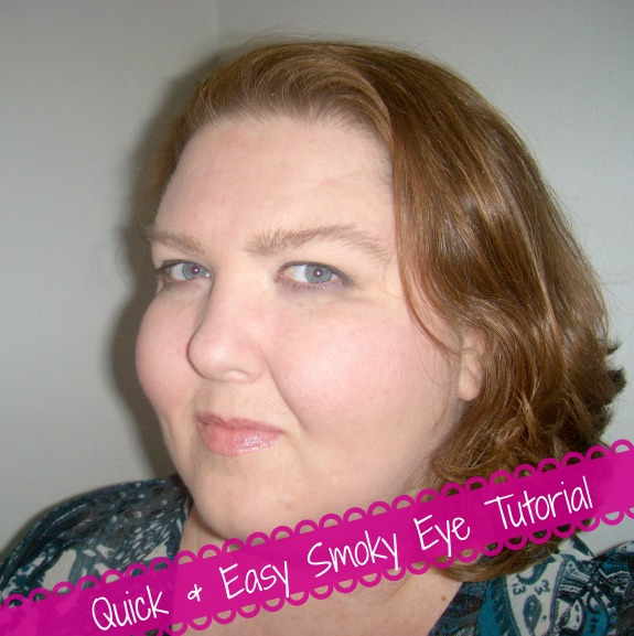 Quick and Easy smoky eye tutorial