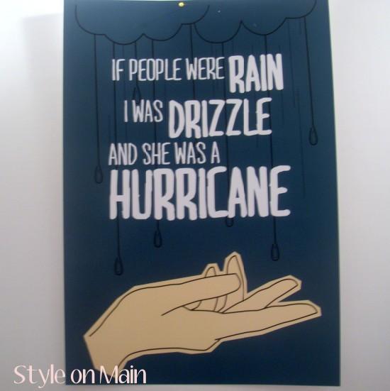 If People Were Rain art print