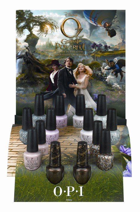 OPI Oz Nail Polish Display