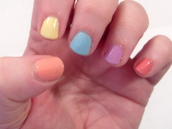 Easy Easter Nail Art Spring Nail Art Style On Main