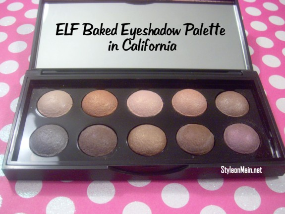 ELF Baked Eyeshadow Palette in California