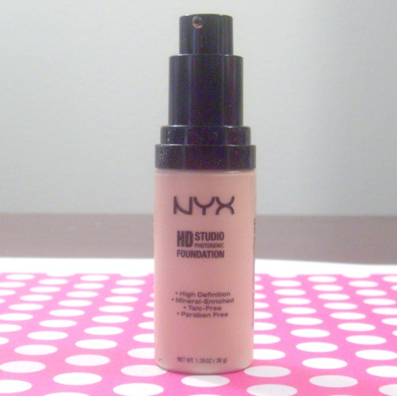 NYX HD Studio Photogenic Foundation