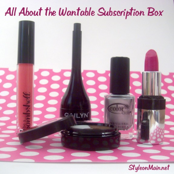All about the Wantable Beauty Box