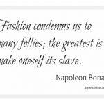Fashion Quotes | Trust Your Judgement