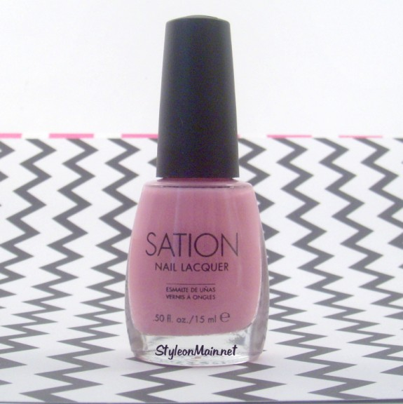 Sation Nail Polish: Pretty In Pink - Style On Main