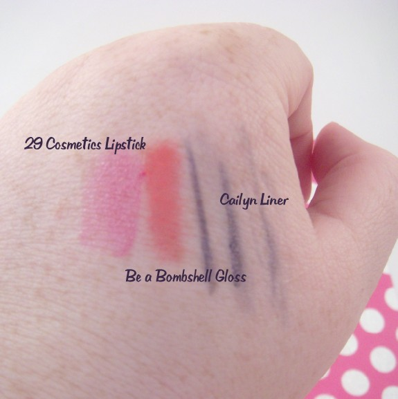 Wantable Box Swatches