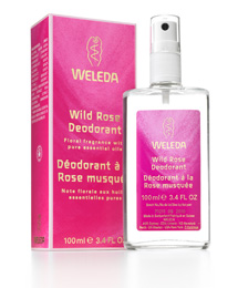 Weleda Wild Rose natural deodorant