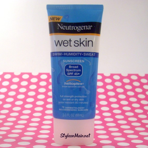 Neutrogena Wet Skin Sunscreen