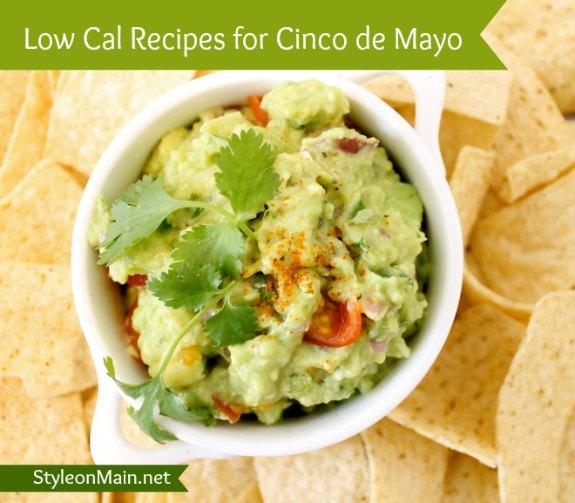 Low Calorie Cinco de Mayo Recipes