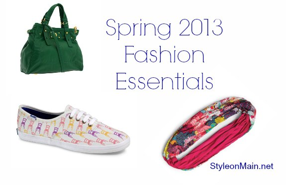 Spring 2013 Fashion Essentials