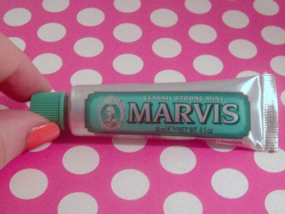 Marvis Toothpaste Sample