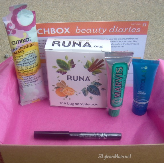 May 2013 Birchbox