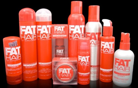 Samy fat hair care line