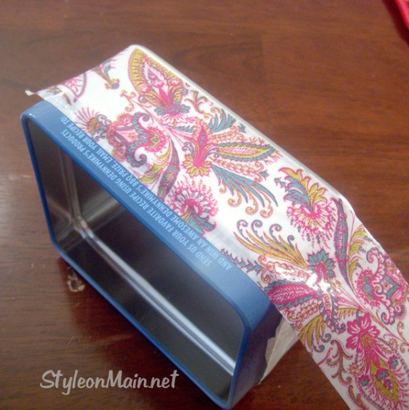 DIY Duct Tape Box Project
