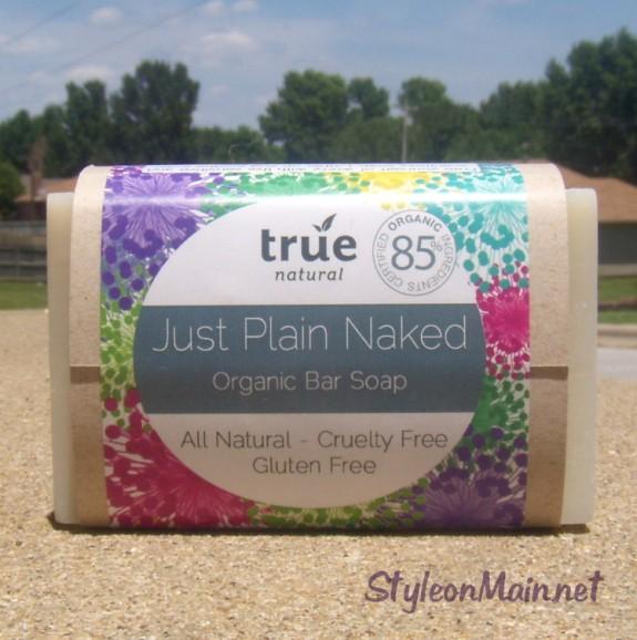 True Natural Just Plain Naked Soap