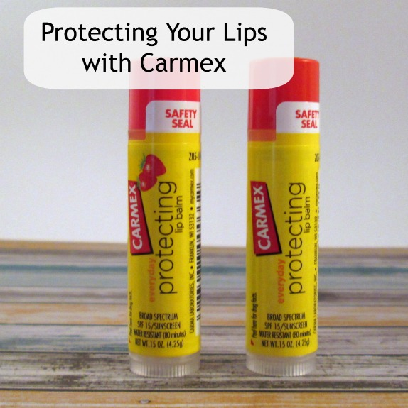 Protect your lips with Carmex