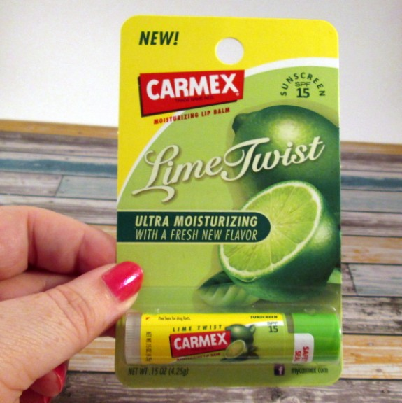 Carmex Lime Twist lip balm