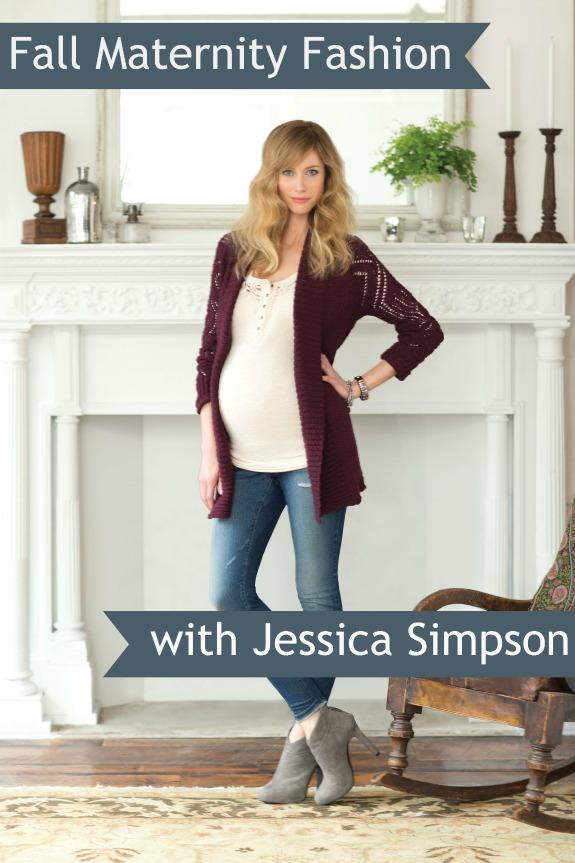 Jessica Simpson Maternity Fashions for Fall