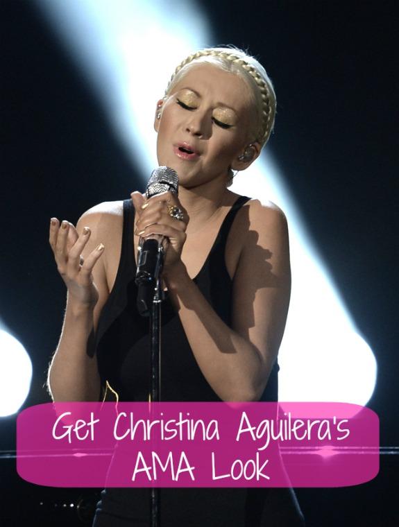 How to Get Christina Aguilera's AMA Look