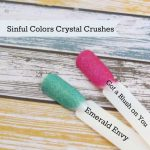 Sinful Colors Luxe Leather & Crystal Crushes Nail Polish