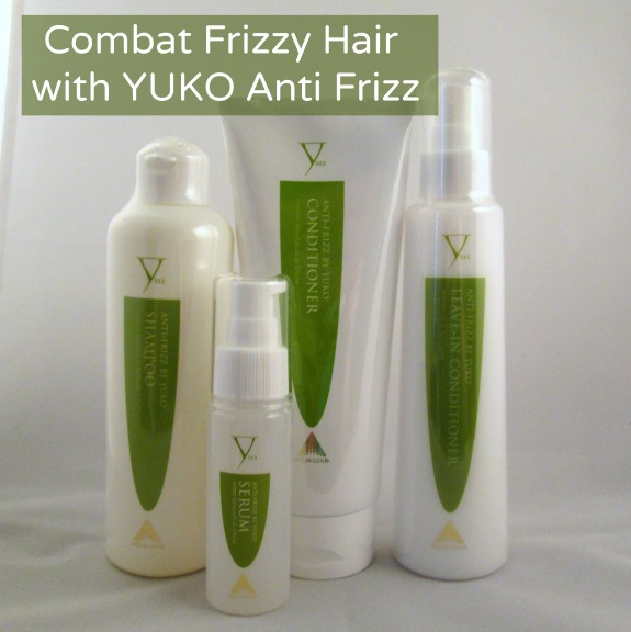 Combat Frizzy Hair with YUKO Anti Frizz