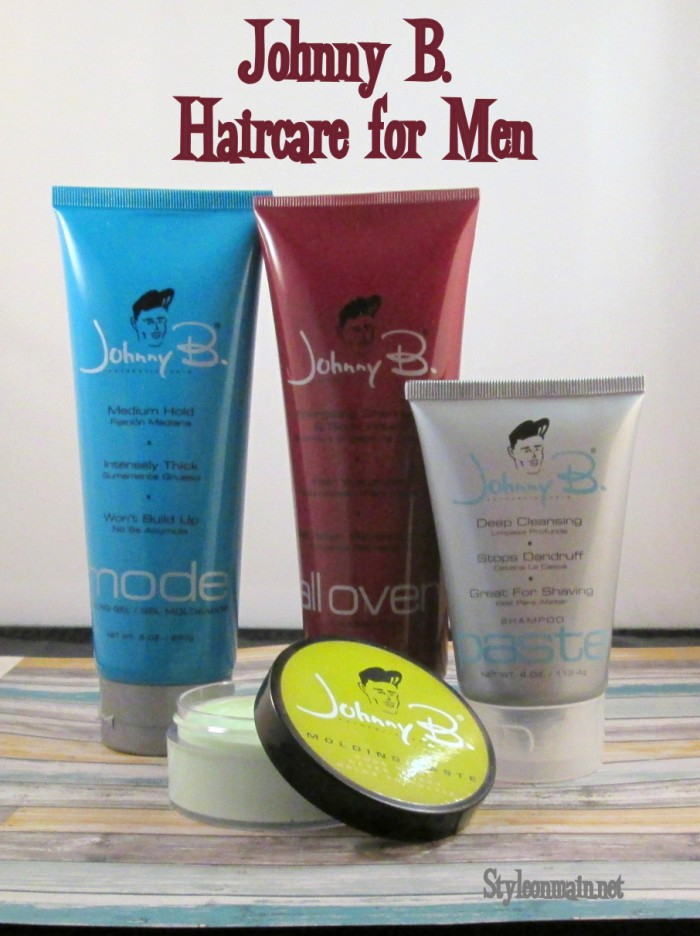 Haircare for Men with Johnny B