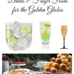 Low Cal Cocktails and Finger Foods for the Golden Globes