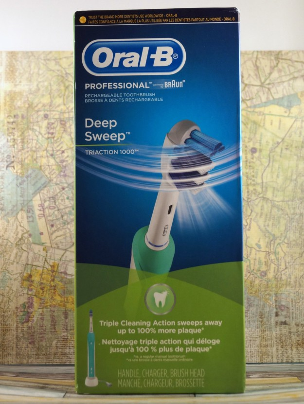 Oral B Deep Sweep Rechargeable Toothbrush