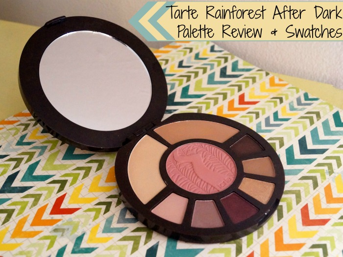 Tarte Rainforest After Dark Palette Review & Swatches
