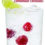 Low Calorie Lemonade Cocktail Recipes