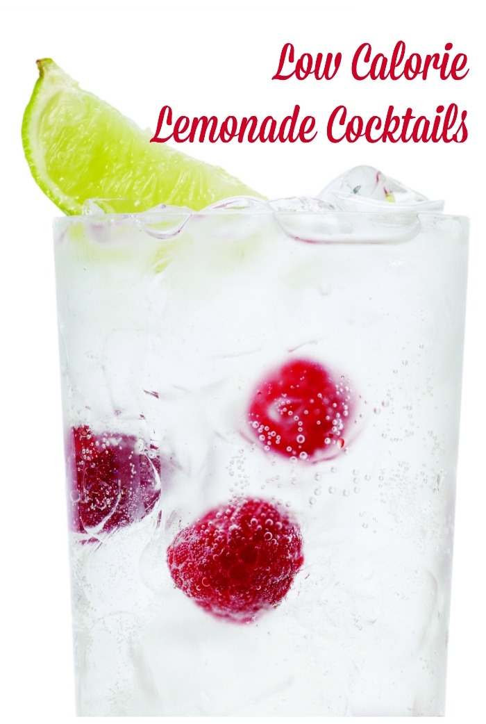 Low Calorie Lemonade Cocktail Recipes