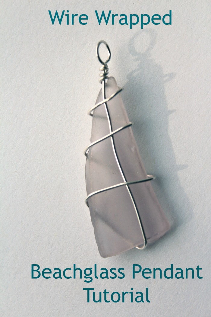 How to make a wire wrapped beach glass pendant style on main wire wrapped beachglass pendant tutorial aloadofball Images