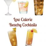 Beach Themed Low Calorie Cocktails Recipes