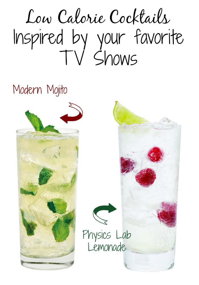 TV Show Inspired Low Cal Cocktails