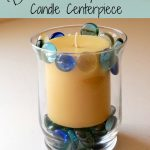 DIY Beach Candle Centerpiece
