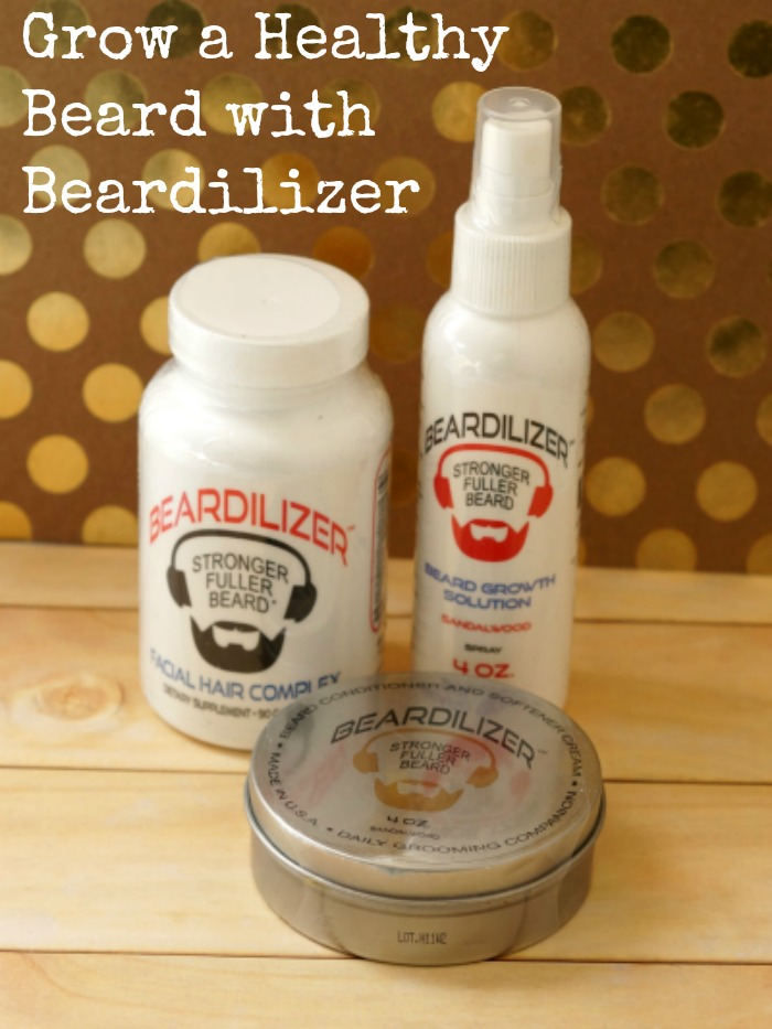 Grow a Healthy Beard with Beardilizer