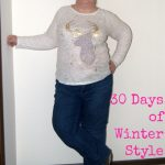 Who Doesn't Love a Deer Shirt | 30 Days of Winter Style