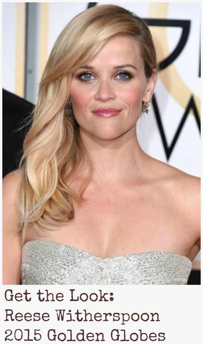 Reese Witherspoon Golden Globes 2015 | Get the Look