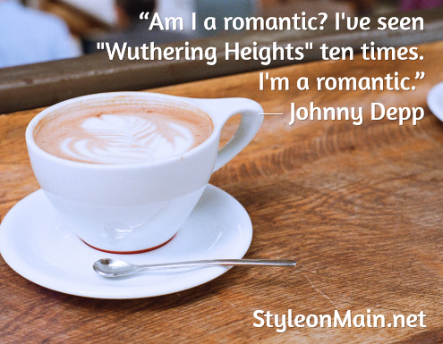 Johnny Depp Romantic Quote