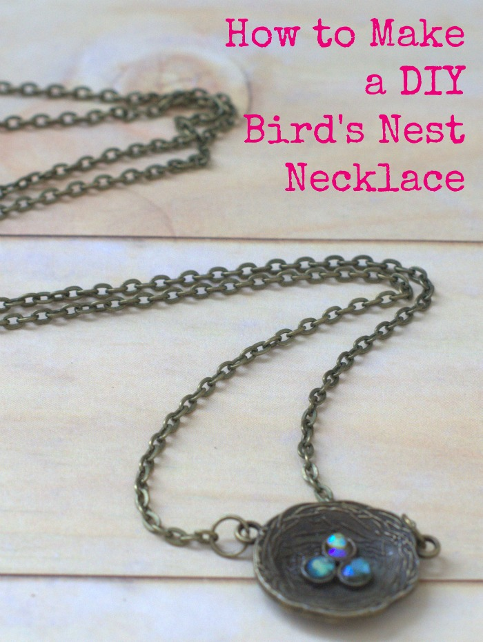 How to Make a Birds Nest Necklace | A Tutorial
