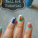 Easter Egg Nail Art Tutorial