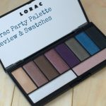 Lorac Party Palette Review and Swatches