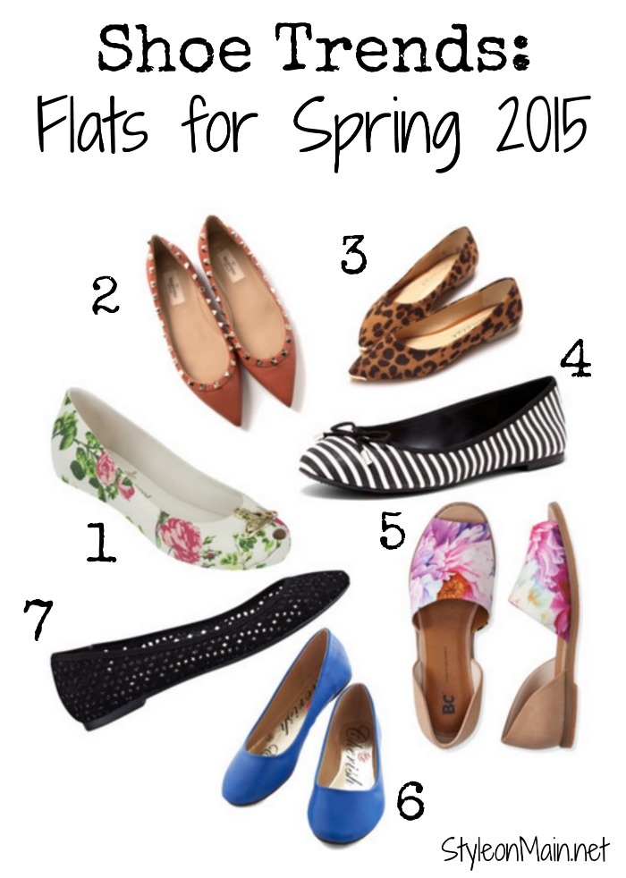 Spring Flats Trends for 2015