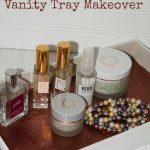 Refresh Your Vanity with an Easy Vanity Tray DIY Makeover