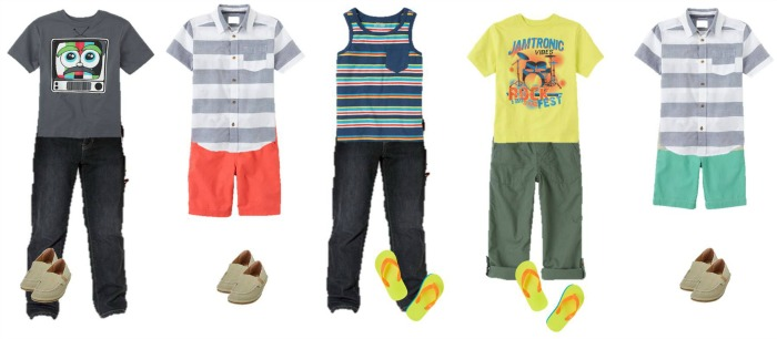 Boys Summer Fashion TCP 1-5-700