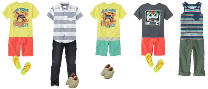 Boys Summer Fashion TCP 6-10-700